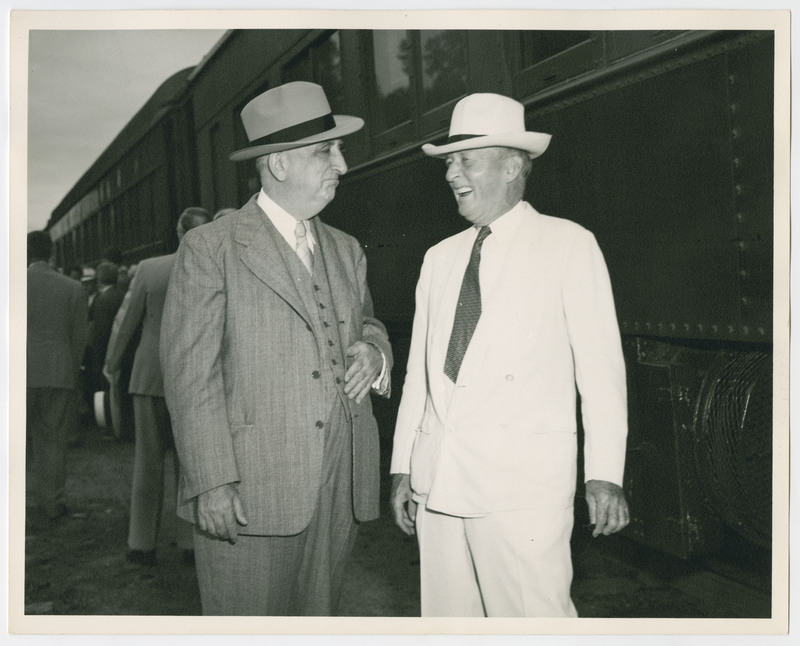 Chief Justice Fred Vinson and Justice Hugo Black